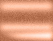 Copper bronze metal background Royalty Free Stock Photos