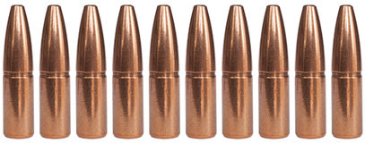 Copper bullet lineup Royalty Free Stock Image
