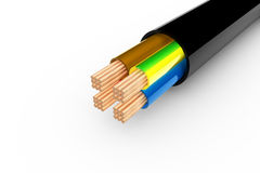 Copper cable Royalty Free Stock Photography