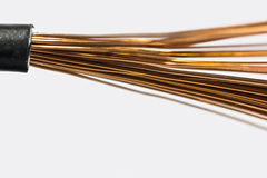 Copper cable Stock Photo