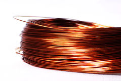 Copper cable Royalty Free Stock Image