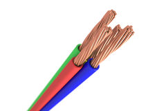 Copper cable Stock Images
