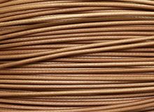 Copper cable computer network connection (texture background) Stock Images