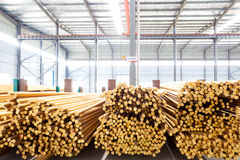 Copper cable factory Royalty Free Stock Image