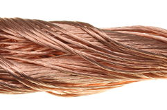 Copper cable Royalty Free Stock Images