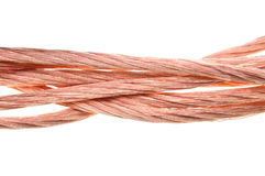 Copper cable Stock Photography