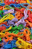 Copper cable scrap recycling Stock Images