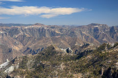 Copper canyon. Mountains close to Copper Canyon, Mexico Royalty Free Stock Photo