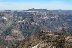 Copper Canyon. View of the Copper Canyon in Chihuahua Mexico Royalty Free Stock Image
