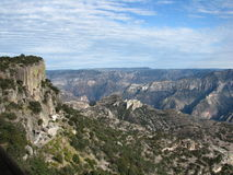 Copper Canyon. View across Mexico's Copper Canyon Stock Photos