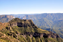 Copper Canyon. Pic of the Urique Canyon that can be visited traveling on the Chepe train Copper Canyon, Chihuahua Mexico Stock Image