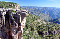 Copper Canyon. Pic of the Copper Canyon at Divisadero Chihuahua, Mexico Royalty Free Stock Images