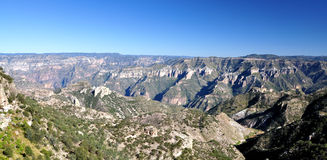 The Copper Canyon Royalty Free Stock Photo