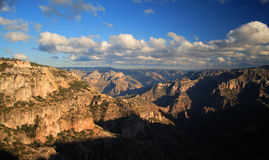 Copper canyon. View of the copper canyon in chihuahua, mexico Royalty Free Stock Images