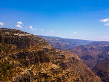 Copper Canyon. In Chihuahua Mexico `Barrancas del Cobre Royalty Free Stock Image