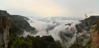 Copper Canyon in Northern Mexico Stock Images