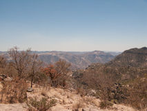 Copper Canyon. View of Copper Canyon in Mexico Stock Photos