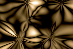 Copper and chrome. An coffee coloured abstract of copper and chrome royalty free stock photography