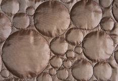 Copper circle pattern cloth Stock Photo