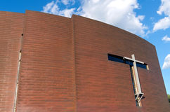 Copper Clad Chapel Exterior Stock Photography