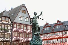 Copper classic statue Stock Image