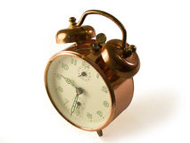 Copper Clock front Stock Photo