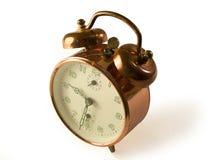 Copper Clock front Stock Photo