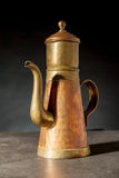 An copper coffeepot Stock Image
