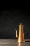 An copper coffeepot Stock Photography