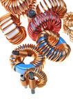 Copper coils Royalty Free Stock Image