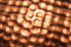 Copper-Colored Bokeh Royalty Free Stock Image