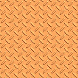 Copper diamond plate metal Royalty Free Stock Photography