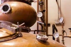 Copper Distiller Stock Photography