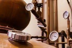 Copper Distiller Royalty Free Stock Photos