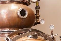 Copper Distiller Royalty Free Stock Photo
