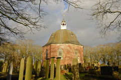 Copper Domed Church (1655) Royalty Free Stock Photography