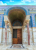 Copper Doors of the Temple Jerusalem Stock Photos