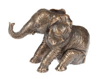 Copper Elephant Stock Photography