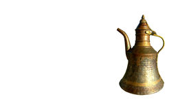 Copper ewer Royalty Free Stock Image
