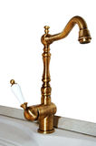 Copper faucet Royalty Free Stock Images