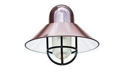 Copper Fixture Royalty Free Stock Image