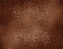 Copper foil textured background. Bronze grunge texture for graphic design, wrapping paper sample Stock Images