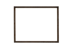 Copper frame Stock Photography