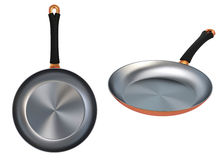 Copper Frying Pan Stock Photography