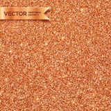 Copper glitter vector seamless pattern Royalty Free Stock Image