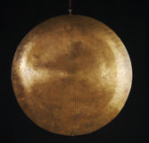 Copper Gong Stock Image