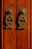 Copper handle,, Drawer handle, cabinet handle Stock Photography