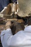 copper hantverkarearbete Arkivfoto