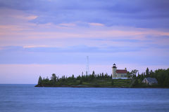 Copper Harbor Lighthouse Stock Images