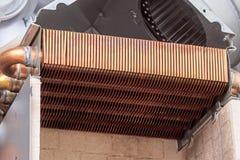 Copper heat exchanger Stock Photos